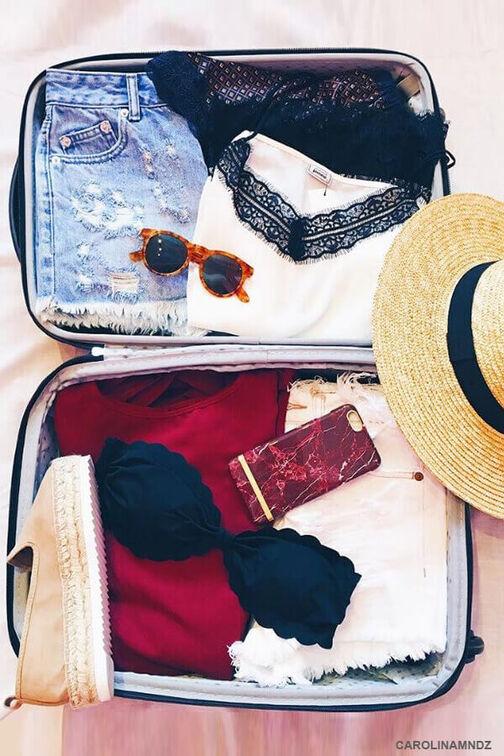 Så här packar du inför semestern