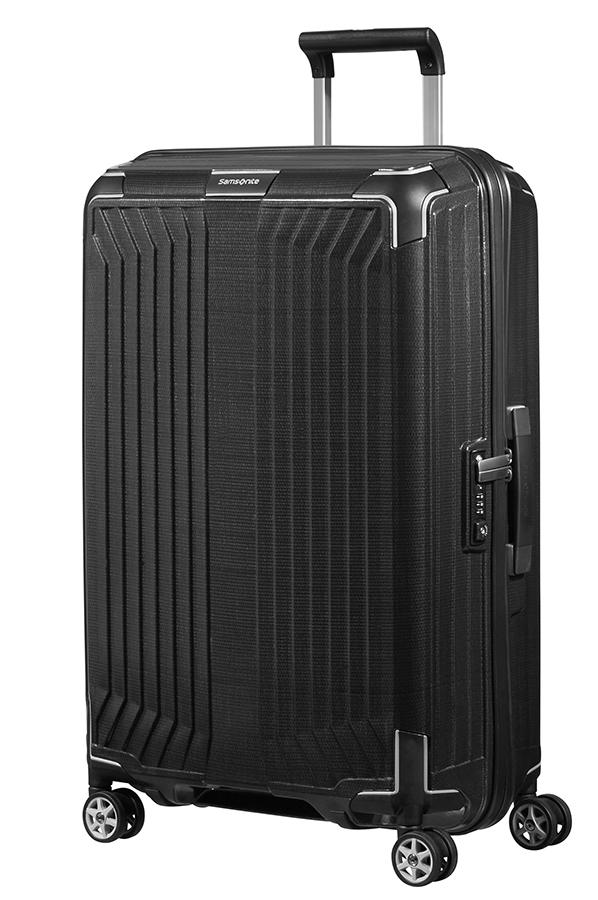 Samsonite Lite Box Resvaska Med 4 Hjul 69cm Black