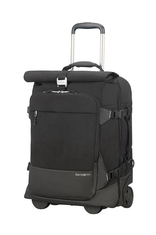Samsonite Ziproll Duffle Backpack With Wheels 55cm Black